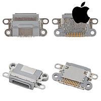 Коннектор зарядки для Apple iPhone 6S, оригинал (черный)