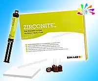 ZIRCONITE, Auto Mix, цемент двойного отв. для фикс. работ на осн. из оксида циркония, 5 мл, насадки