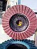 Лепестковый  круг из  скотчбрайта Klingspor SMT 800 medium 278499  по нержавейке