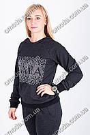 Трикотажный спортивный костюм ZARA графит