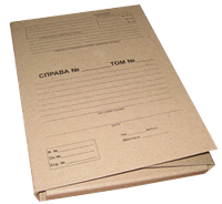 Папка архивная с завязками 40 мм