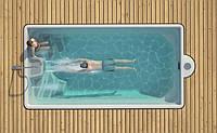 Композитный бассейн KORO (стоимость чаши указана для базовой комплектации бассейна)