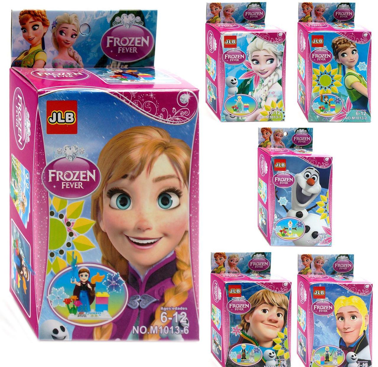 Конструктор Frozen 6 видов.