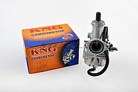"Карбюратор на мотоцикл с двигателем  4T CB/CG 125/150   ""KNG""   (orange box)"