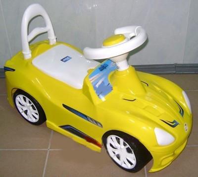 Каталка Орион 160_Л Спорткар Лимон