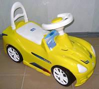 Каталка Орион 160_Л Спорткар Лимон, фото 1