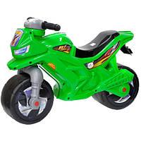 Каталка Орион Мотоцикл  2-х колесный 501 Зеленый, фото 1
