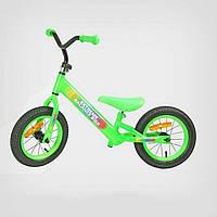 Велобег , беговел салатовый Extreme Balance Bike 12'' BB001 Green