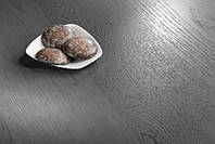 Паркетная доска пр-во BARLINEK Дуб 3 полосный Gingerbread,матовый  лак,  Графит, FAMILY