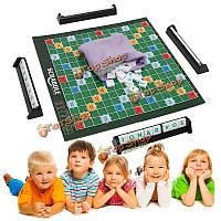 Эрудит настольная игра бренда кроссворд игра письма плитки для семьи детей младшего друзей путешествий