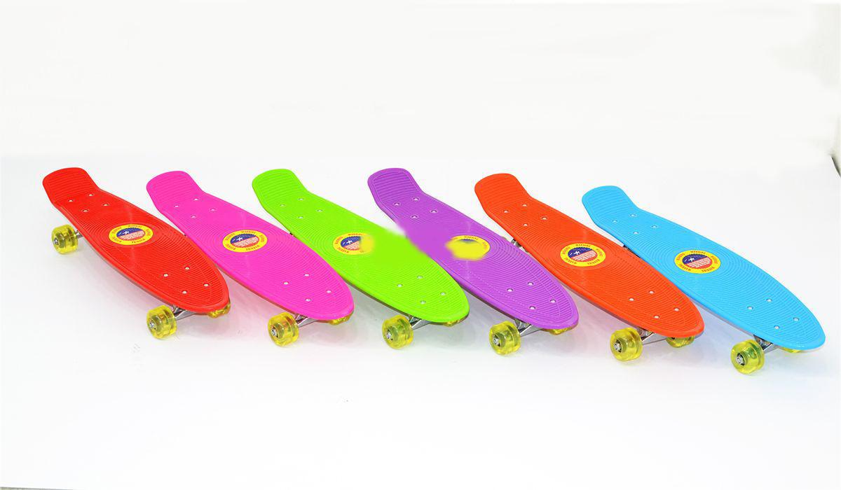 Скейт M350-3 PU колеса, 5 цветов