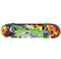 Скейтборд 13012, Скейт, колеса PU, 79*20 см , фото 1