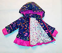 Куртка осень-весна на девочку 92-98-104-110 рост