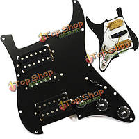 Черная гитара нагруженный накладкой проводная пластина для Humbuckers гитары