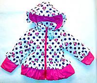 Куртка осень-весна на девочку 92-98-104-110 рост, фото 1