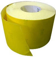 Бумага наждачная на бумажной основе №80 115мм*50м Spitce (18-592) м.п
