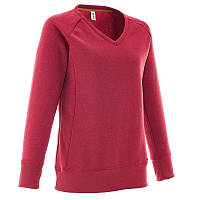 Кофта женская, свитер Quechua Arpenaz 100 красная