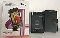 Смартфон VINKO L40 Android Black 1н, сенсорный мобильный телефон, смартфон на 2 сим карты
