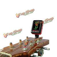 Джойо JT-12b цифровой ЖК мини-клип на гитарный тюнер для бас скрипка укулеле