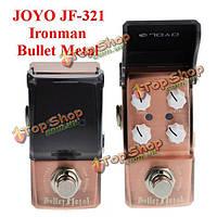 Джойо Ironman JF-321 искажение пули металла мини гитара педаль эффект