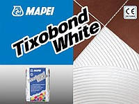 Клей для керамической плитки белый тиксотропный  Tixobond White 25 кг
