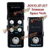 Джойо Ironman JF-317 пространство глагол цифровой ревербератор мини-гитары педаль эффекта