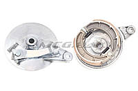 "Крышка барабана тормозного (зад)   на мотоцикл Viper (Zongshen), Lifan 125/150   (под литой диск)   (+колодки)   ""TQ"""