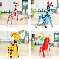 1шт надувные жираф зоопарк животное взорвать детей игрушки вечеринка у бассейна декор подарок