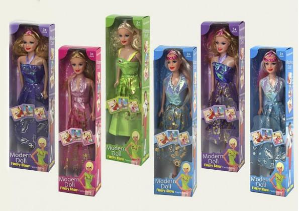"""Кукла типа """"Барби """" 6638-5/8 4 вида, в кор. 8*4, 5*30см"""