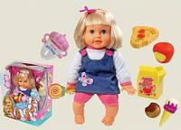 Кукла функциональная 0813K-4 батар, реагирует на аксессуары, в кор.37, 5*29, 5*20см, фото 1