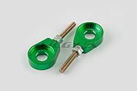 """Натяжитель цепи трансмиссии на мотоцикл  12mm   """"RIDE IT""""   (зеленый)"""