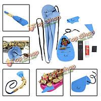 Саксофон саксофон очистки кейс для инструментов набор для очистки саксофона аксесуары