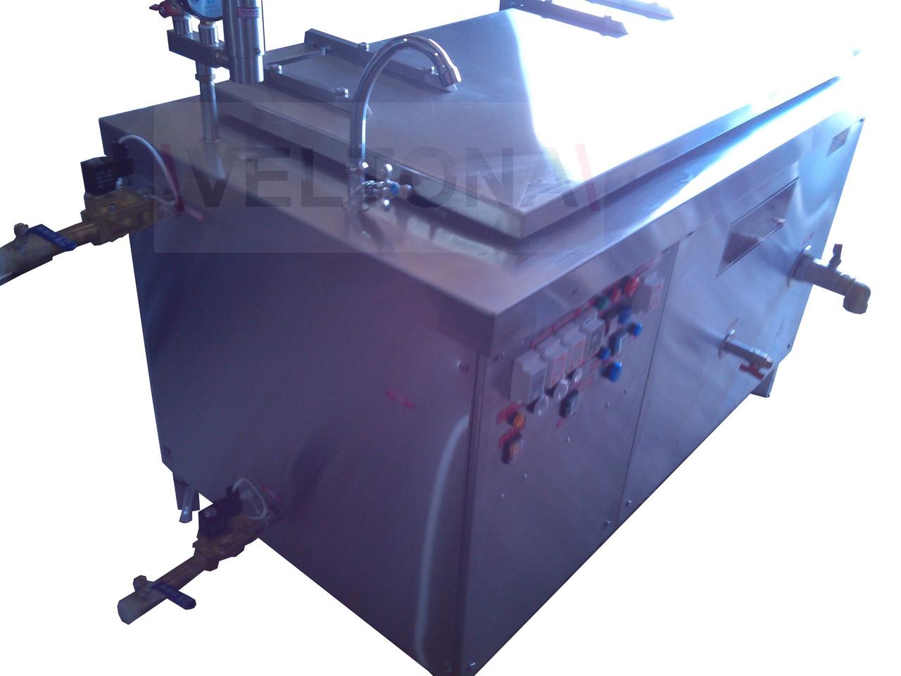 Пастеризатор с охлаждением КЭ 250 ПО с мешалкой  - SKOROVAROCHKA