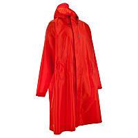 Пончо дождевик мужской Quechua 75L S/M красный