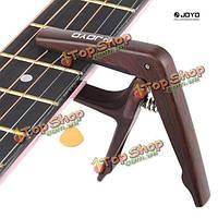 Джойо JCP-01 гитара капо ретро-стиле из дерева акустической гитары капо зажим