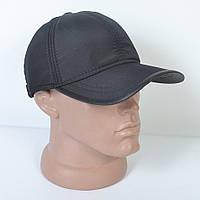 Мужская модная теплая кепка на флисе с ушками - 29-431