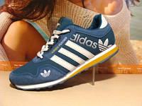Кроссовки для бега Adidas FEATHER голубые 44 р.