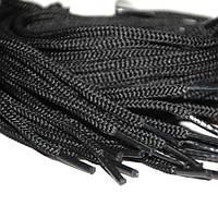 Шнурок 5 мм черный 50 см
