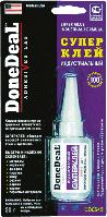 Клей-адгезив DoneDeal DD6643 Суперклей индустриальный
