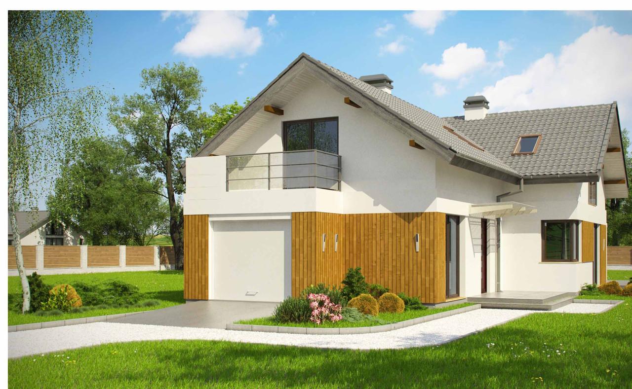 Строительство коттеджей и малоэтажных домов. Проект Дома № 2,59