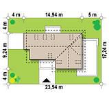 Строительство коттеджей и малоэтажных домов. Проект Дома № 2,59, фото 4