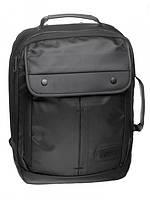 Рюкзак-портфель бизнес серии черный
