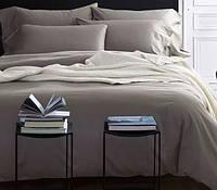 Однотонное постельное белье сатин люкс  Prestij Textile 08547
