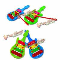 Детская музыка игрушки мини ксилофон развития музыкальное развитие игрушка в подарок