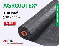 Агроткань AGROJUTEX чёрная 100 г/м² (3.30*100м), Чехия