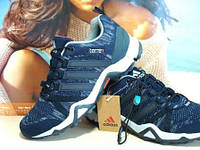 Кроссовки Adidas terrex (адидас) синие 43 р.