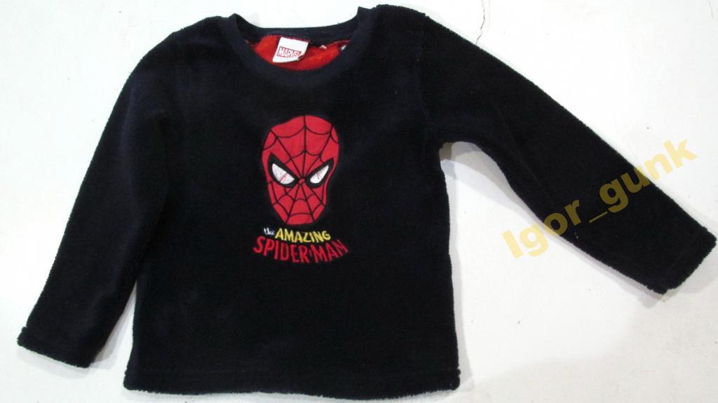 Кофта детская MARVEL, Spiderman, на 3-4 лет