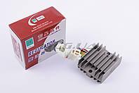 """Реле зарядки   на мотоцикл Viper (Zongshen), Lifan 125/150   (3+3 провода)   """"JIANXING"""""""