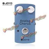 JOYO JF-37 аналоговых хор истинно bybass гитары педалей эффектов