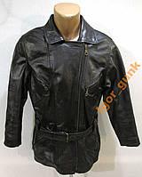 Куртка кожаная черная 40 (S/M), КАЧЕСТВО!